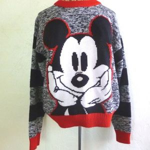 Mickey Mouse vintage acrylic sweater
